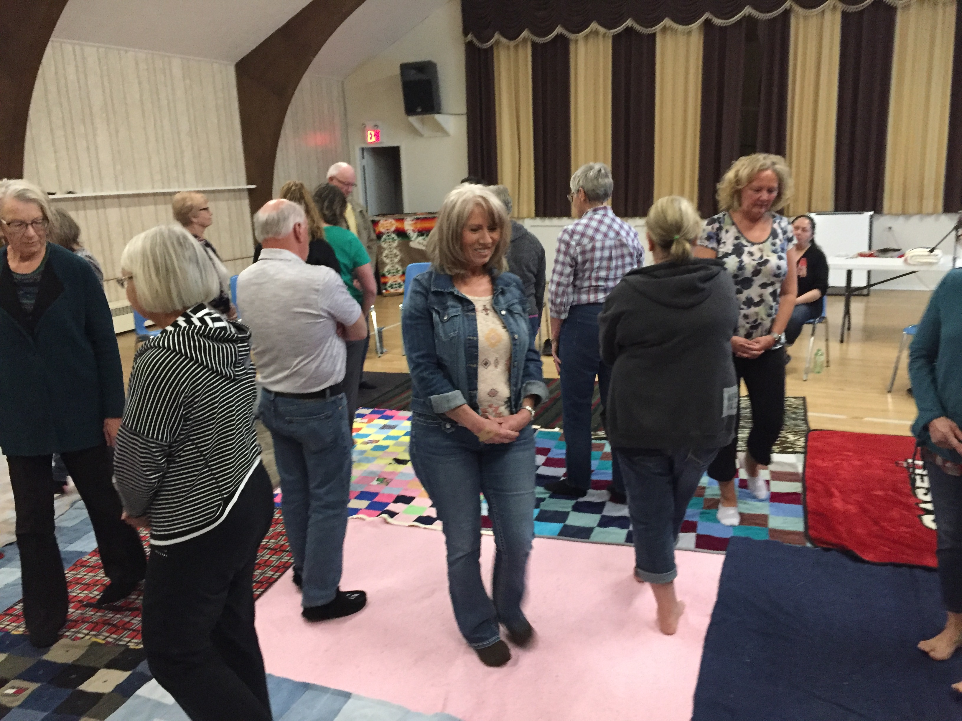 Kairos Blanket Exercise Elbow Apr 29, 2018
