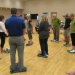 May 30 Kairos Blanket Exercise - Watrous - Part of the Exercise