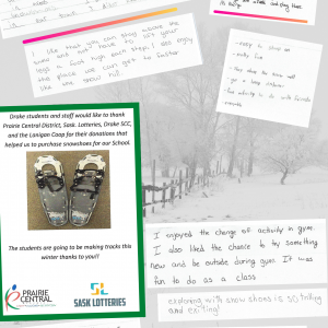 CEDP 20-21 Drake Snowshoes Comments