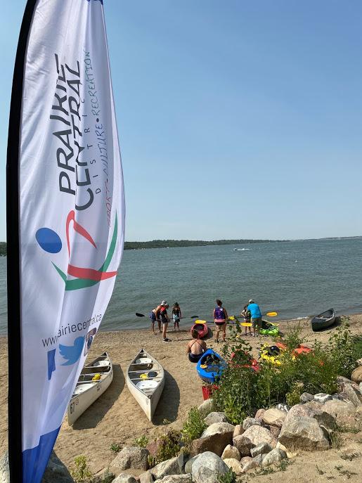Canoe/Kayak Demonstration - Sask Beach - Aug 22, 2020