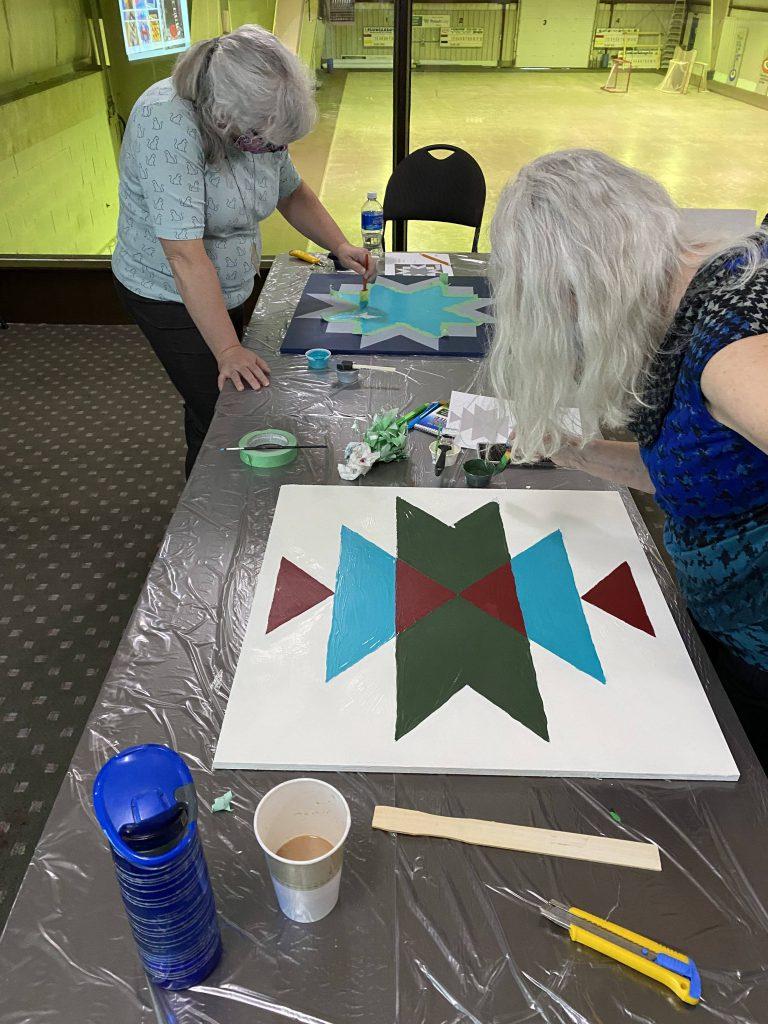 Barn Quilt Workshops Allan & Davidson Oct 2020