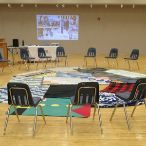 May 30, 2018  Kairos Blanket Exercise - Watrous - May 30 Blankets & Chairs