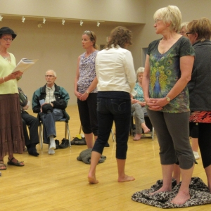 May 30, 2018  Kairos Blanket Exercise - Watrous - Close to the end of the Exercise