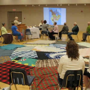 May 30, 2018  Kairos Blanket Exercise - Watrous - Viewing the map
