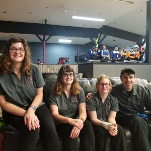 Special Olympics Bowling team